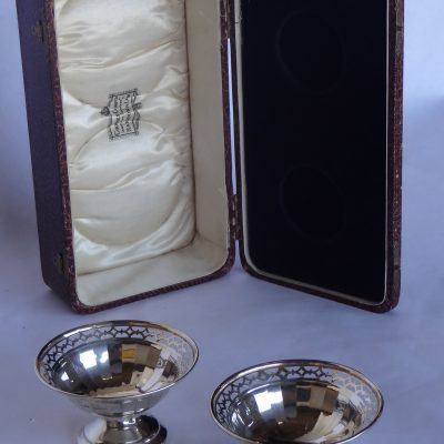 Sterling candy dishes in original box