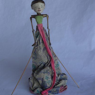 Antique Indonesian Puppet