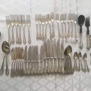 Antique Continental Sterling Flatware
