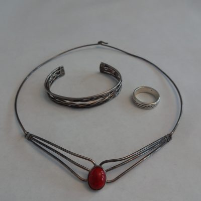 Danish-style sterling jewelry