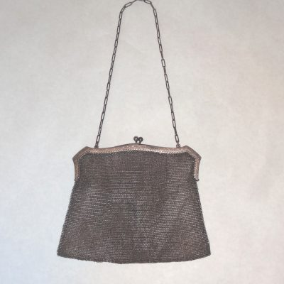 Antique mesh handbag