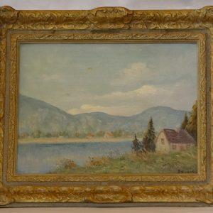 Bellis oil painting
