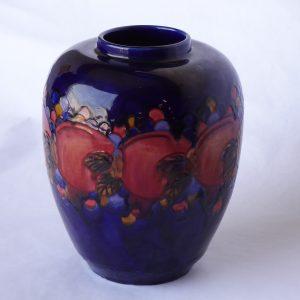Moorcroft-style vase