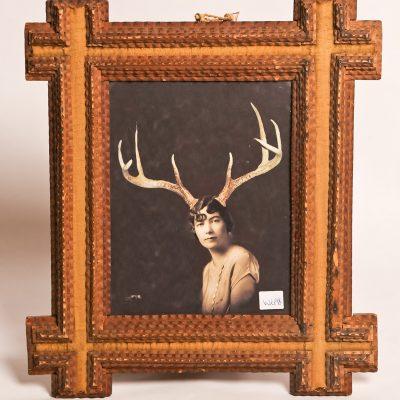 Folk art frame