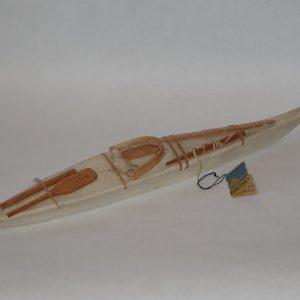 117.  J. Kitila - sealskin model kayak.