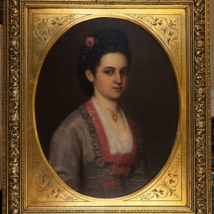 Lot 43 Antique Portrait